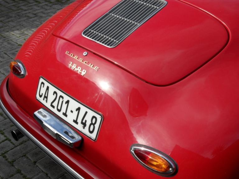 My Porsche 356 Speedster
